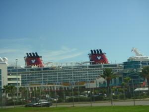 Het cruise schip van Disney