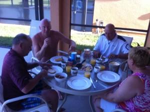 Geen dag begonnen zonder de ontbijtfoto ;-) #foodporn