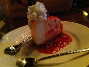Mountain Top Cheesecake