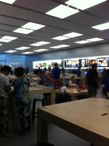 Even rondkijken bij de Apple Store. #omdathetkan ;-)