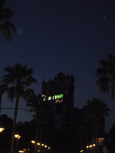 Tower Of Terror by Night